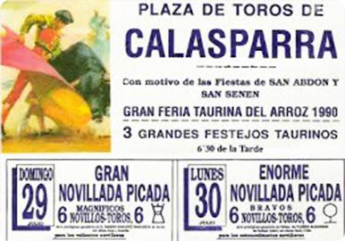 Feria taurina Calasparra